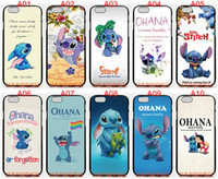 Wholesale Lilo Stitch Iphone 4s Cases - Lilo And Stitch For iPhone 6 6S 7 Plus SE 5 5S 5C 4S iPod Touch 5 For Samsung Galaxy S6 Edge S5 S4 S3 mini Note 5 4 3 phone cases