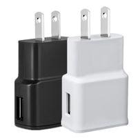 enchufes de iphone al por mayor-5V 2A 5V 1A (Imprimir 2A) Adaptador de corriente para cargador de pared para el hogar de EE. UU. EE. UU. EE. UU. Para samsung s4 s6 nota 2 4 para iphone 5 6 7 mp3 gps