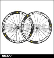 Wholesale Clincher Rims Alloy Braking Surface - Free shipping 700C cosmic painting 50mm clincher rim Road bike 3K carbon bicycle wheelset with alloy brake surface carbon wheels