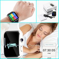 X6 Curved Screen Bluetooth Smart Watch Clock с поддержкой камеры SIM-карта SD-карта Wristwatch для телефона Android
