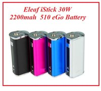 Wholesale Adjustable Lowering Kit - Eleaf istick 30w single kit sale 2200mAh istick 30w box mod mini 30w battery VS Istick 20w free shipping Lowest price