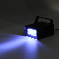 Commercio all'ingrosso- Mini 24 LED Strobe Discoteca DJ Flash Club Club illuminazione Lampadina Party Bar Nuovo negozio in tutto il mondo