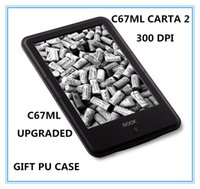 "Wholesale Ebook Ereader - Wholesale- ONYX BOOX c67ml carta2 new ebook 8G touch screen 6"" ereader 300dpi 3000mAh Android WIFI electronic book free shipping+cover"