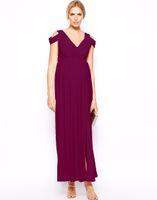 Wholesale Loose Maternity Dresses - Sofe 95% Tencel Plus Size Loose V-Neck Off-Shoulder Gowns Evening Party Prom Dresses for Pregnant Women Elegant Maternity Dress