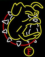 Gonzaga Bull Dog Neon Sign Handcrafted Custom Real Glass Tube Sport Bar Team Club Pub Реклама Дисплей Неоновые вывески 15
