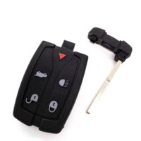 Wholesale Car Remote Key Electronic Chip - 4+1 Buttons Remote Car Key Smart Card 315MHZ with 46 electronic chip For Land Range Freelander 2