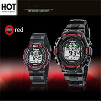 Coolboss Multifunction Children Watch Electronic Digital LED Montres-bracelets Boy Girl Students Luminous Waterproof Military Watches Regarder Regarder