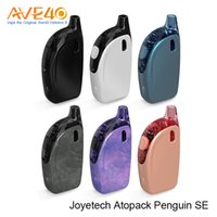 Wholesale Purple Se - Authentic Joyetech ATOPACK PENGUIN SE Starter Kit 2ml 8.8ml Tank 2000mAh Built-in Battery JVIC1 JVIC2 Coil All-In-One Style 50W