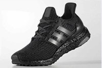 Wholesale Casual Tennis Shoes For Women - Newest Ultra Boost 3.0 Triple Black Primeknit Running Shoes For Men Women ultraboost Basketball Shoes Casual Sneakers With Original Box