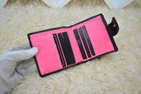 Wholesale oval clutches - Fashion Designer Clutch Women Purse XXJ#58 Brand Wallet Lambskin Leather Bifold Credit Card Holders Wallets With Box Dustbag 50099