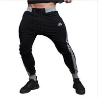 Wholesale Gasp Bodybuilding - Wholesale- 2017 NEW gyms BE Men's gasp workout fitness Gyms Pants casual sweatpants Bodybuilding joggers pants men skinny trousers