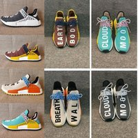 Marque Hu NMD HUMAN RACE Trail boost homme Chaussures de course pour hommes ultra boost nmds Runner Automne hiver Run Sport sneakers US 5-12