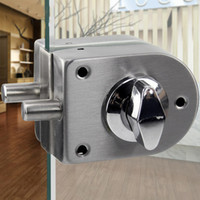 Wholesale Privacy Door Locks - Stainless Steel Security Door Lock Safe Lock European Style Glass Door Handles Privacy Door Keyless Lock Knobs
