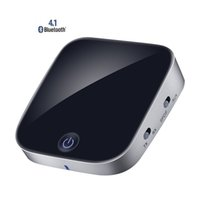 Wholesale Wireless Audio Optical - SK-BTI-029 2 in 1 Wireless Bluetooth 4.1 Audio Transmitter Receiver Digital Optical Toslink SPDIF Adapter With APTX