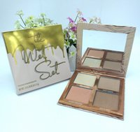 Wholesale Natural Collection Foundation - NEW Kylie Cosmetics vacation edition Makeup Bronzers & Highlighters Powder Foundation Palette 4 color Collection
