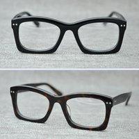 Wholesale Arrow Glass Lens - Brand 2017 Brand design Moscot NEBB eyewear johnny depp glasses top Quality brand round eyeglasses frame with Arrow Rivet