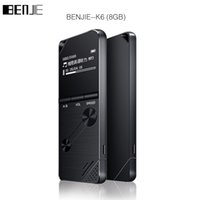 Wholesale Books English - Wholesale- 2017 BENJIE 8GB mp3 music player lossless HiFi MP3 Portable audio player metal MP3 FM radio One-key A-B repeat for English stu
