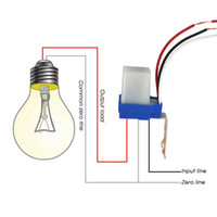 Wholesale Photocell Switches - New Hot Automatic Auto On Off Photocell street Light Switch Photo Control Photoswitch Sensor AC 220V 50-60Hz 10A