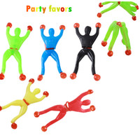 Wholesale Birthday Bag Fillers - Free shipping Sticky Wall Climbing Climber Men Kids Party Favors Supplies Pinata Fillers Birthday Gift Treat Bag Goody Bag Novel Gift