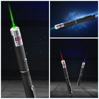 Wholesale Laser Mini Point - 7 5zz Mini 5mw Laser Pointer Pen Single Point Beam Teach Indicating Pens Portable Anti-skid Design Lasers Flashlight Hommization Clip