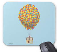 Wholesale Mouse House - Rectangular non-slip natural rubber mouse mat balloon house from the disney pixar up Movie computer accessories office supplies mouse pad