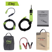 Wholesale Truck Battery Wholesale - 5Sets Top Quality JDiag BT-100 Battery Electrical System Circuit Tester For 12V Car and 24V Truck Better Than PT150 YD208 PS100