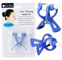 Wholesale Magic Nose Up Lift - 120pcs Quality Blue Magic Nose Reshaper Beauty Tool , Nose UP Lifting Shaping Clip Clipper Shapen High Nose Bridge No Pain