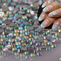 2mm 1000pcs / pack ss6 Flatback Rhinestones Stones AB clear Bling Perfect DIY Nail Art Phone Case NO.22
