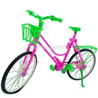 Birth-12 months outdoor doll house - Detachable Plastic Doll Bike Outdoor Accessories For Barbie Doll Kid s Pretend Play House Dollhouse Toys Baby Gift
