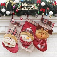 Wholesale Kids Sock Hat - In Stock Pretty Christmas Socks Old Man Snow Man Elk With Hat Character Thick Print Kid Formal Wear