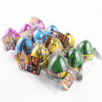Wholesale Educational Egg - Large Size 12pcs set Water Hatching Inflation Dinosaur Egg Novelty Toys Cracks Grow Egg Educational Toys free shipping TY2088