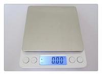 hochpräzise elektronische waagen großhandel-Hochpräzisions-Schmuckskala Miniatur Gold Schmuck elektronische Medizin Gramm wiegen 500g / 0,01 g Skala Küchenwaage