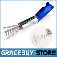 Wholesale Guitar Cleaning - wholesale Mr.power Guitar Ukulele Nut  Bridge Files Filing Tool Set Sander Cuts better and cleaner For Sale New
