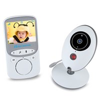 Großhandel-Wireless Infant Video LCD Monitor Kamera Musik Audio Temperaturanzeige Radio Nachtsicht Baby Nanny Monitor Nanny