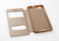 Wholesale Gionee Phones - For Gionee F105 Case New Cool window Fashion Flip Luxury PU Leather Phone Cases for Gionee F105