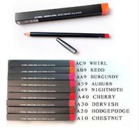 Wholesale Crayon Eyeliner Pencil - Free Shipping! NEW LIP EYE LINER PENCIL CRAYON EYELINER 1.45G(10PCS LOT)