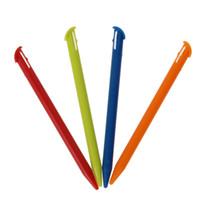Wholesale Stylus 3ds - Wholesale- 4Pcs Lot Multi-Color Plastic Touch Screen Pen Stylus Pen for New Nintendo 3DS XL