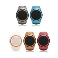 meilleures montres intelligentes achat en gros de-Meilleure vente Mini Haut-parleur Bluetooth B20 Smart Watch Bluetooth Universel sans fil universel pour lecteur de musique avec carte TF