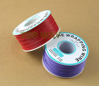 Wholesale Soldering Plate - Wrapping Wire Cord 30AWG Soldering 305m1000Ft Red Tinned Plated Copper Cable