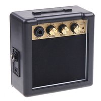 Wholesale acoustic electric guitars high quality - High Quality Electric Guitar Amplifier Hot Sale PG-3 3W Electric Guitar Amp Amplifier Speaker Volume Tone Control
