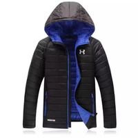 Wholesale Men Goose Down Coat - Wholesale- New Arrival 2017 Men's Winter Down Jacket Winter Warm Down Jacket Men's Casual Fashion Coat Super Light WN 220