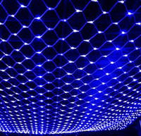 Wholesale Led Ornament String - LED Net Light 2*3M 4*6M 8*10M Meshwork Lamps Christmas Decoration Outdoor Ornament Wedding Party Holiday Lighting String Lights