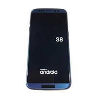 Wholesale Digital Tv Phone Dual Sim - New S8 Goophone S8 edge phones 5.5 Inch 3G WCDMA MTK6580 RAM 1GB ROM 8GB camare 8.0MP Show octa core 4+64GB 4G LTE 13MP Android S8 phone