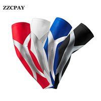 Vente en gros - 1 PCS Professional Basketball Armband Extended Elbow Pad Antidérapant Coude Elbow Guard Arm Elbow Sleeve Pads Football