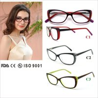 Wholesale Popular Eyewear Quality - hot selling women acetate eyeglasses with spring hinge,quality guaranteed women eyewear frame,popular optical glasses