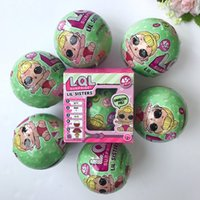 Wholesale Remove Gift Box - Wholesale- 8pc set Random Color original LOL SURPRISE DOLL Series 2 surprise dolls Baby Cake Toy Surprise Eggs Removed with Box Kids Gifts