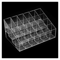 Atacado Display Rack Holder Acrílico Jóias Cosmetic Storage Display Stand Boxes Maquiagem Cosmetic Organizer Display Stand DHL grátis