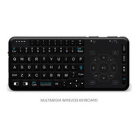 Wholesale Hot Rii - New hot Rii RT504 Multimedia Wireless Keyboard with Touchpad Combo Handheld Gaming Keyboard for PC HTPC IPTV Andorid TV Box