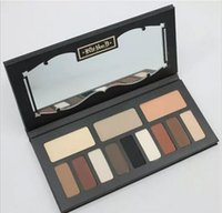 Wholesale matt shadows - HOT New Shade & Light Eye Contour Palette 12 colors Matt eye shadow palette eyeshadow 30g 1pcs