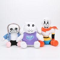 Wholesale undertale plush sans for sale - Undertale plush toys Frisk Chara Sans Papyrus Frisk Asriel Napstablook Toriel Temmie plush stuffed toys kids gift doll toy